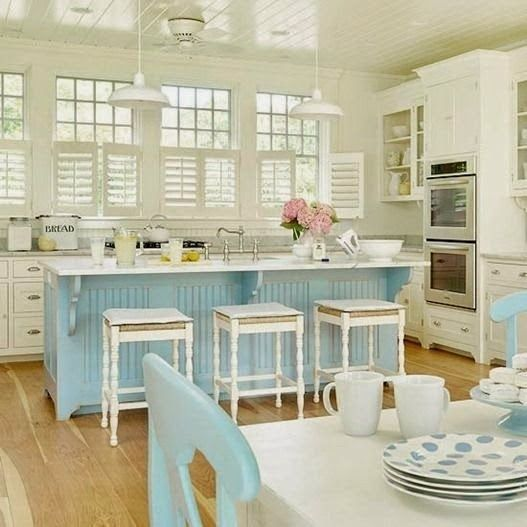 Kitchen Teal Cabis On Beach Cottage Kitchens Subway Style: 44 Best Images About Hutch Designs / Ideas On Pinterest