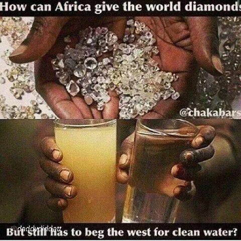 The De-Beers family have a monopoly on diamonds,control how many are on the market keeping prices artificially high,the rest are locked away. Truth be known, their value is probably the same as coal  ;)