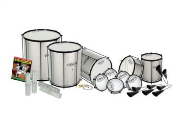Samba Instruments - a must for any drummer! Packs available to suit each customer, which is even better!