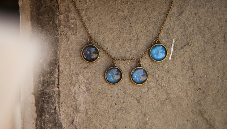 Ilianne | Jewelry Made of Love - Galaxy Shades Necklace