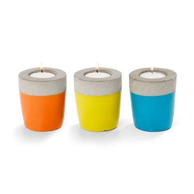 Image for Two Tone Tea light Holders - Set of 3 from Kmart