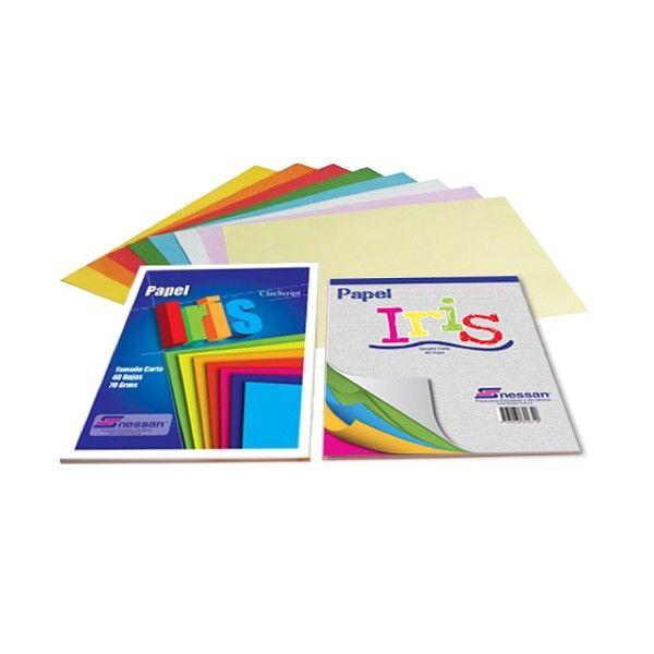 BLOCK PLEGADO IRIS 20X20 50 HJ NESSA 02249