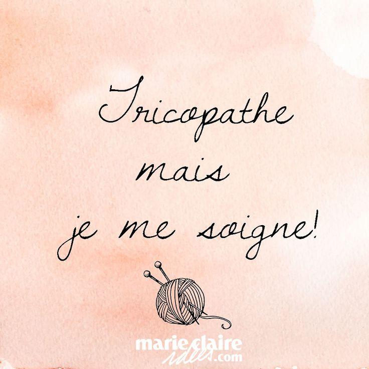 Tricopathe mais je me soigne ! Tricopathe but I take care of myself!