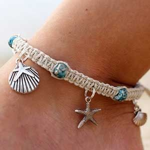 Inspirations for Jewelry: Anklets - by HempBeadery