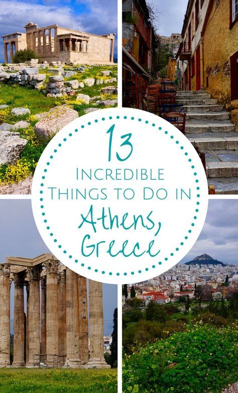 From history hunters to party seekers to foodies, Athens has something for everyone. Here are some ideas on things to do in #Athens, #Greece. | #whattodo #thingstodo #history #sites #incredible