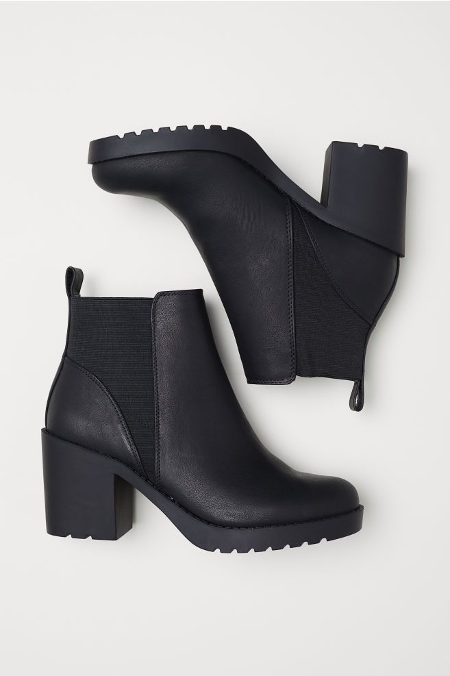 38c2481566dd Ankle Boots - Black - Ladies   H M US 2   shoes in 2019   Boots ...