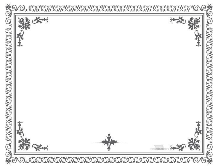 Template de Diploma para imprimir