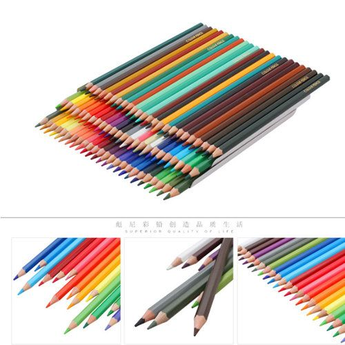 72 colored pencils pack adult coloring set by myartsupplies