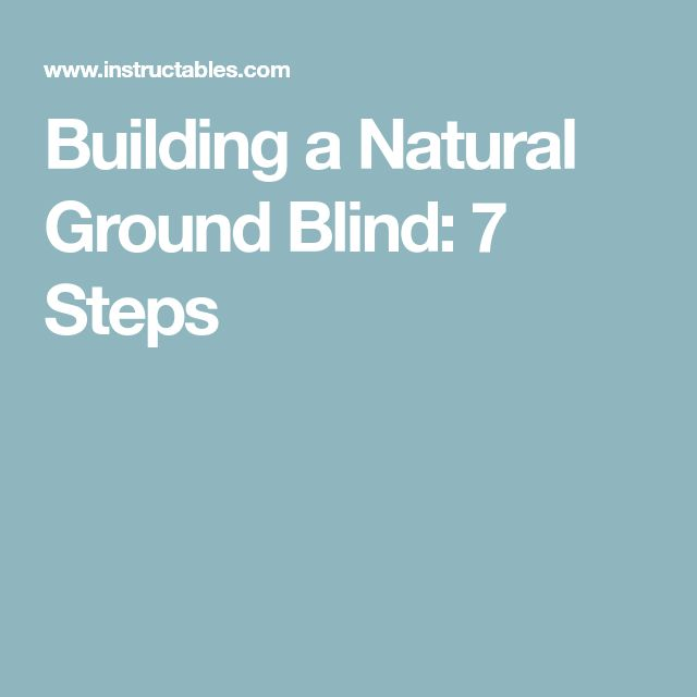 25 Unique Ground Blinds Ideas On Pinterest Hunting
