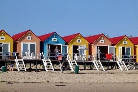 Domburg... Slapen op Strand...