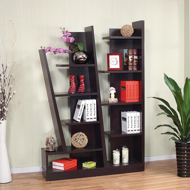 Innovative display shelf and bookcase