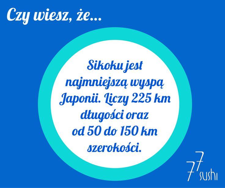 Jest także najmniej liczna. Zamieszkuje ją zaledwie 4,5 mln osób ;)  #ciekawostki #77sushi