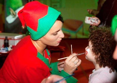 Giornata Universale dellInfanzia: 4000 bimbi al Santa Claus Village