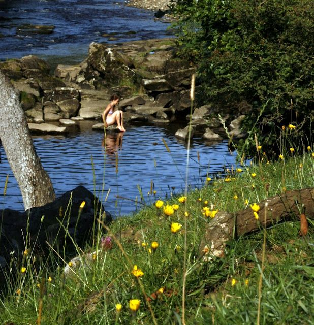 Appletreewick, Yorkshire Dales, UK, from the Wild Swimming book