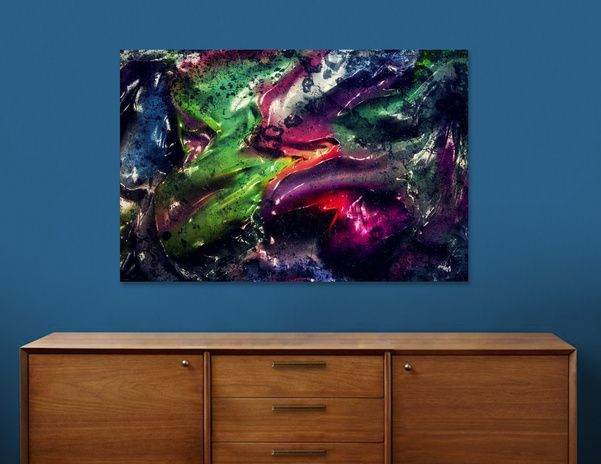 Discover «primal 2», Numbered Edition Canvas Print by vividvivi - From $49 - Curioos