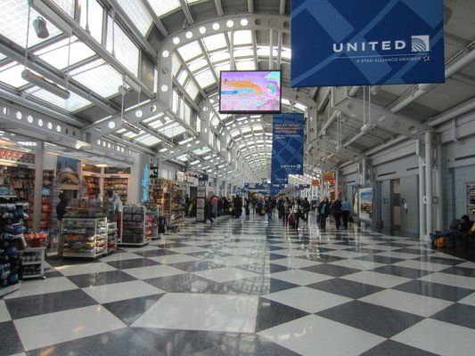 Chicago O Hare International Airport Ord Concourse C