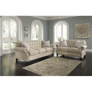 Signature Design By Ashley Kieran Stationary Living Room Group, That  Furniture Outletu0027s Minnesotau0027s #1
