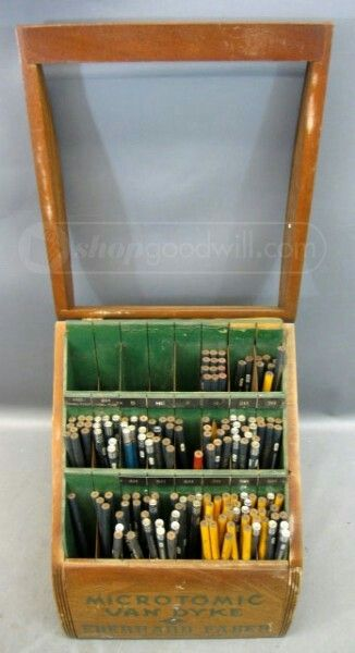 Vintage Eberhard Faber Microtomic Van Dyke Display (view 3)