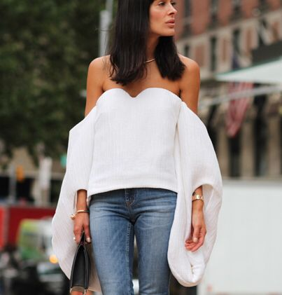 Rosie Assoulin top FTW. NYC.