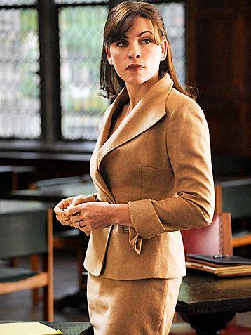#wardrobechallenge How elegant is this. Alicia is my wardrobe idol.