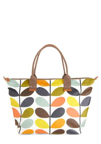 Orla Kiely Sprout on the Town Bag, #ModCloth