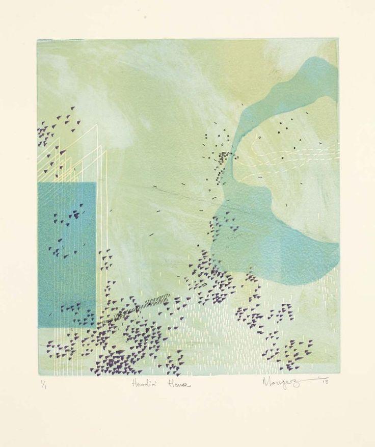 """""""Headin' Home"""" (2013) Monotype"""