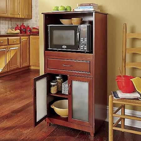 kitchen cabinets inside 17 ideas about microwave cabinet on microwave 20617