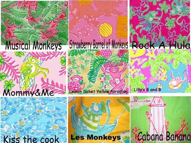 Lilly Pulitzer Line Ids Monkey Giraffe Elephant Zebra