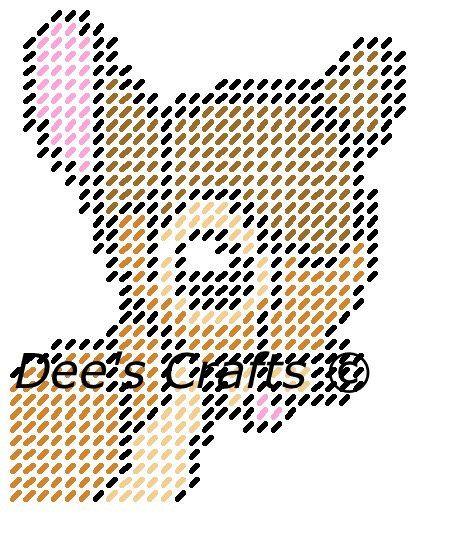 9 Best Bambi Plastic Canvas Images On Pinterest