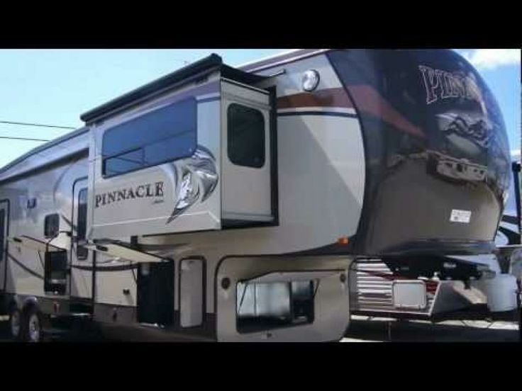 Luxury Fifth Wheel Camper | 2013 Jayco Pinnacle 38FLFS Luxury Fifth Wheel from Keystone RV Center!