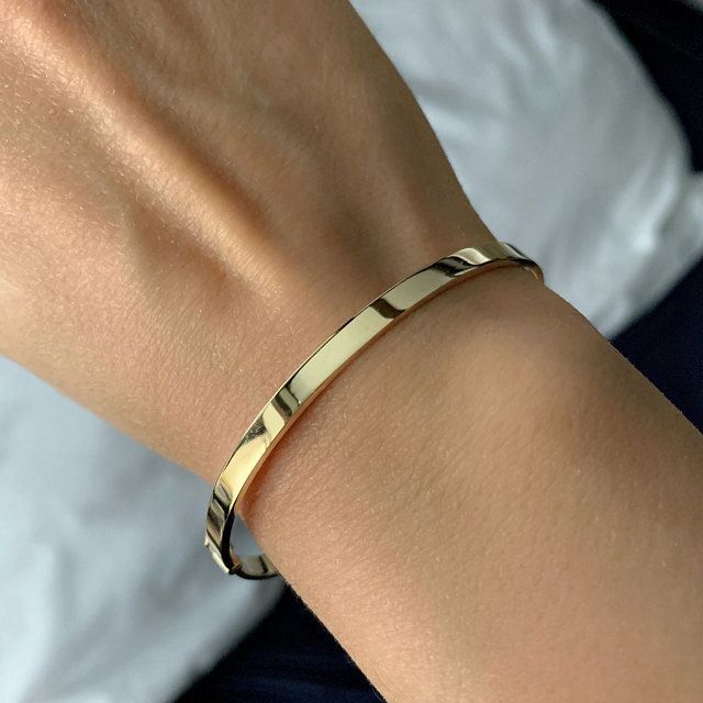 Plain Gold Bracelet Bangle