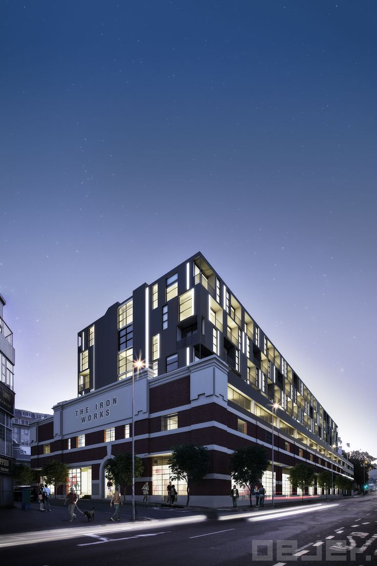 Objek Architecture and Interiors - The Iron Works, Woodstock, Cape Town