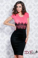 rochie-office-Also Coral
