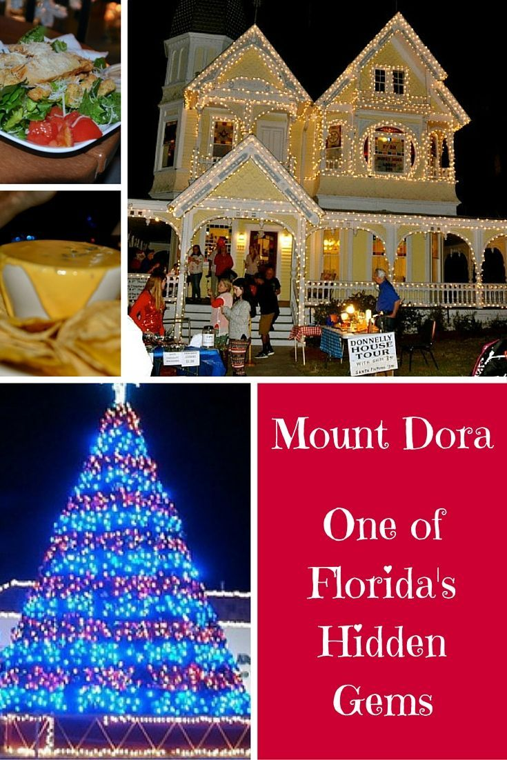 One of the most fun holiday events in Florida is attending the annual Mt. Dora Christmas Walk when the whole town shows up to enjoy the season.: