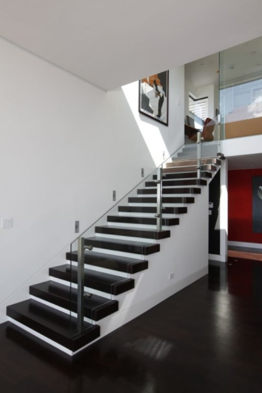 52 best images about stairs up down on pinterest for Modern house stairs