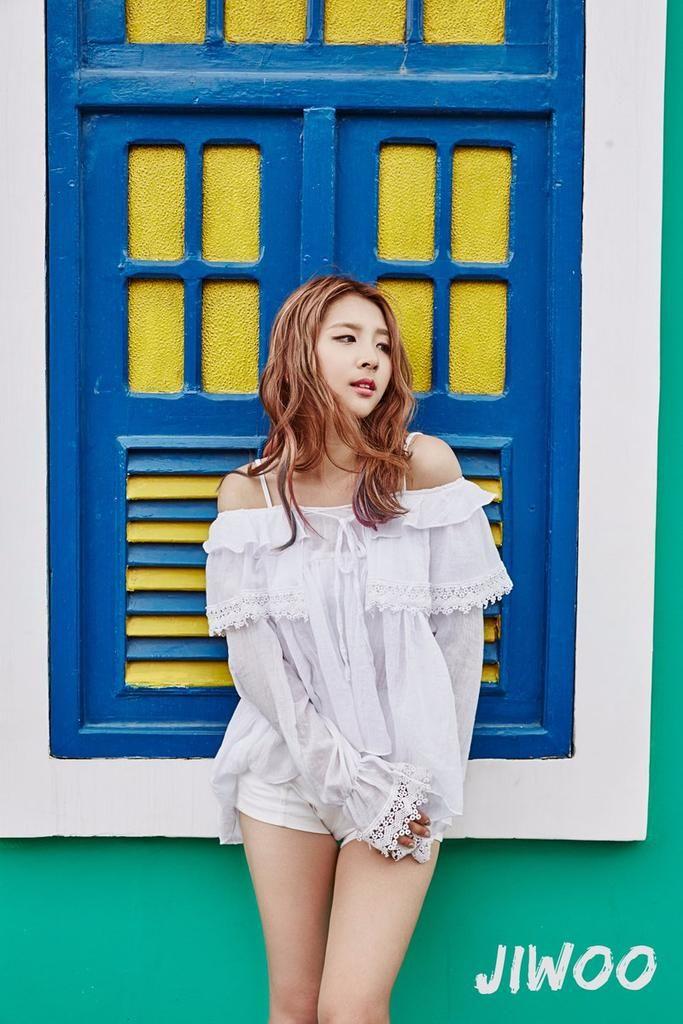 Jiwoo só n é mais deusa pq é só uma❤❤❤