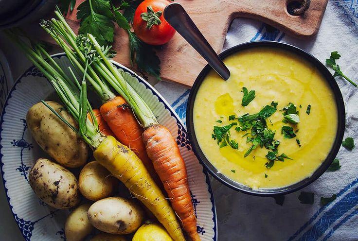 Krämig morot – och potatissoppa med citron och ingefära! Perfekt värmande och mättande höstosoppa. Har du haft turen att kunna skörda egna grönsaker i år? Eller kanske känner någon som gjort? Eller…