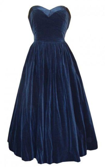 1000  ideas about Blue Velvet Dress on Pinterest - Velvet skater ...