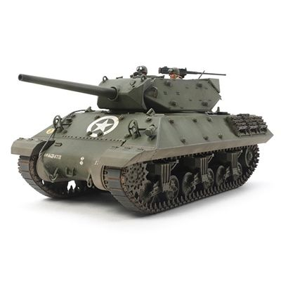Tamiya M10 U.S. Tank Destroyer Plastic Model Kit, 1/35 Scale