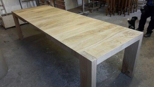 Tavolo su misura in assito di rovete antico anche allungabile