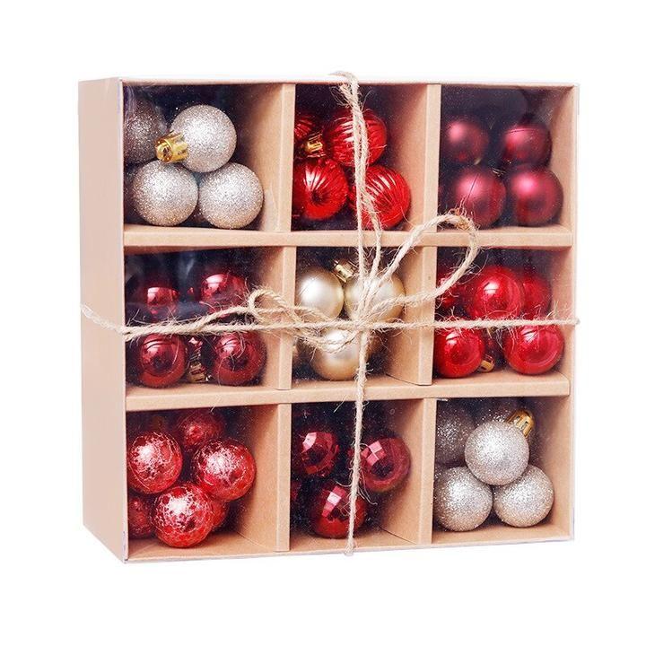 Set De Boules De Noel Decoration 99 Pieces Baidon Store Christmas Tree Decorations Christmas Decorations Cheap Christmas Balls