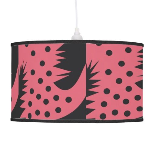 Playful and Cute Abstract Red Bird Hanging Pendant Lamps $89.95