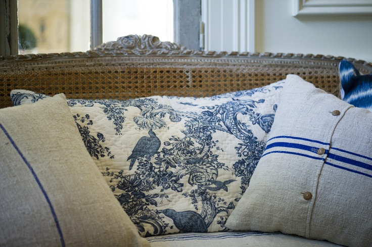 for the love of blue & white at French & Country Open Day