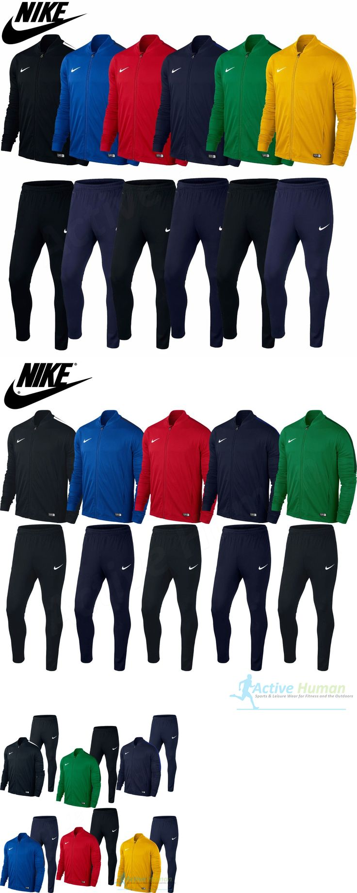 Track Suits 59339: Mens Nike Tracksuit Full Zip Jogging Football Top Bottoms Jacket Pants S M L Xl -> BUY IT NOW ONLY: $56.52 on eBay!