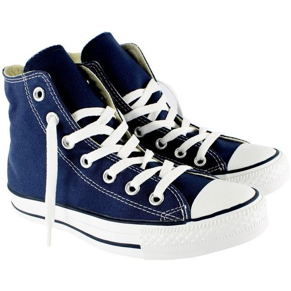 Amazon.com: Womens Converse All Star Hi High Top Chuck Taylor Chucks... found on Polyvore