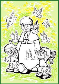 El Rincón de las Melli: El Papa Francisco con niños