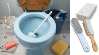 How To Get Rid Of Toilet Bowl Stains Naturally