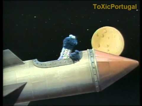 Monstro das Bolachas vai à lua (Rua Sésamo) RTP [1989]