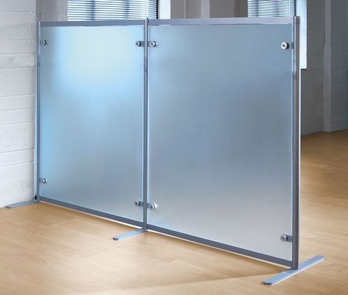 Glass small office partition FREESTANDING Shopkit