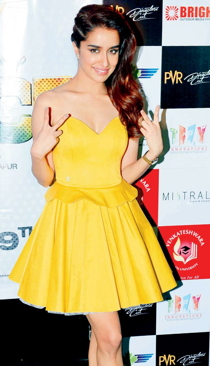 Shraddha Kapoor at ABCD 2 promotions.